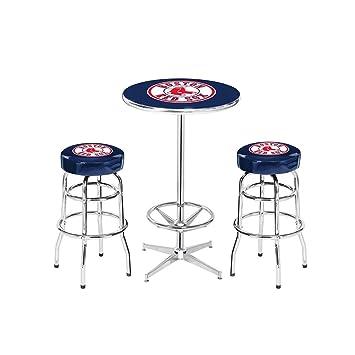 hot sale online 08229 fbe5c Amazon.com : Imperial Billiards Boston Red Sox Mlb Pub Table ...