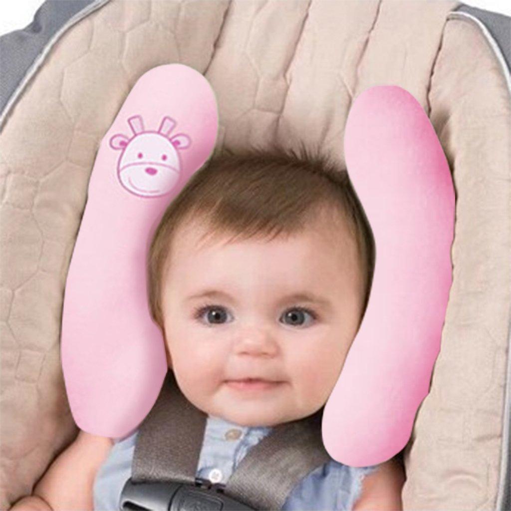 Vine Cuscino da viaggio bambino memoria cuscino del collo regolabile per passeggini e seggiolini per auto Bambini Poggiatesta, bianca Vine Trading Co. Ltd E160817TZ01001V