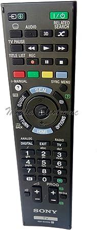 Sony RMED052 / RM-ED052 - Mando a distancia original para televisión: Amazon.es: Hogar
