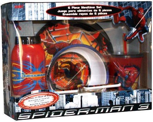 (Marvel Spider-man Dinnerware - 6pcs set)