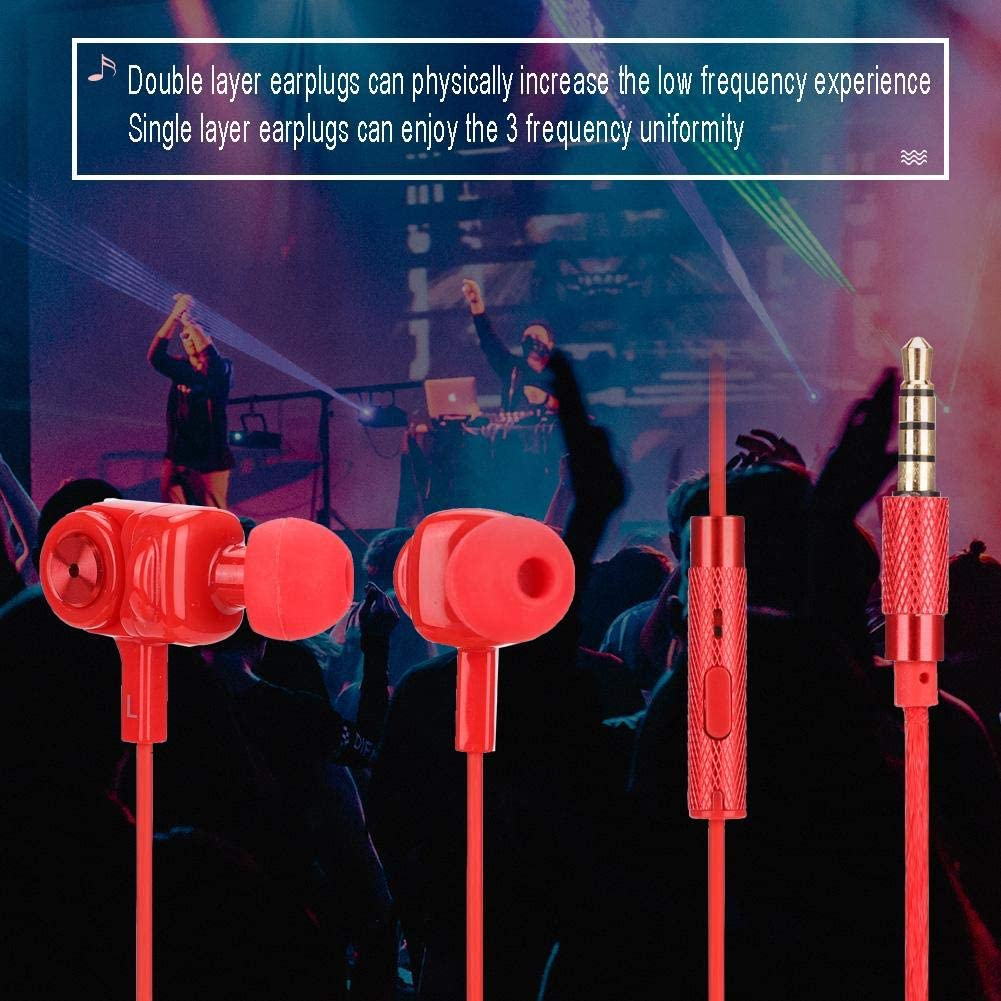 Main Thread Weaving Wire+high Elasticity TPE Wire Gaming Headset in-Ear Headphones Tosuny Headset for REMAX 3.5mm Gaming Headphones
