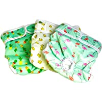 [Extra 75% OFF] Luxury Reusable Dog Diapers (3-Pack) - Large [NEW Pattern] Durable Dog Wraps Nappies for Both Male and Female Dogs, Cats, Rabbits and Other Small Animals by Pet Magasin (Trending, Large)