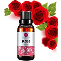 Rose Essential Oil Diffuser Aromatherapy Oil (30ML/1oz), 100% Pure Organic Plant Extract Oil