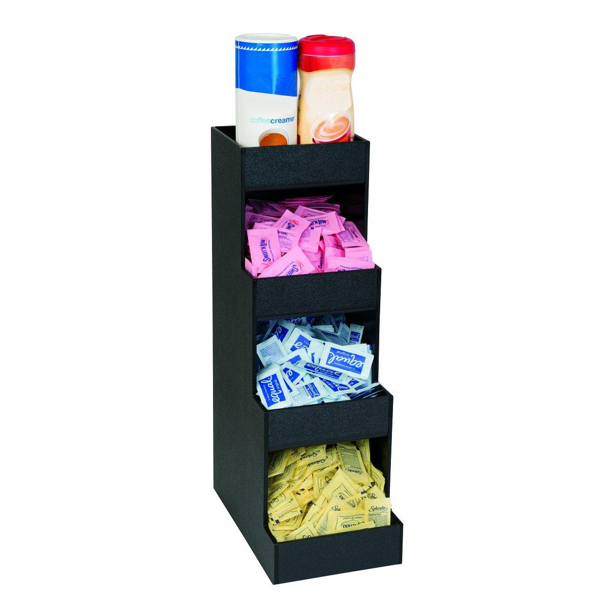 Dispense-Rite CTVH-4BT Four Section Countertop Condiment Organizer by DISPENSE-RITE (Image #1)