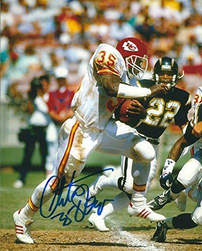 Autographed Christian Okoye 8x10 Kansas City Chiefs Photo