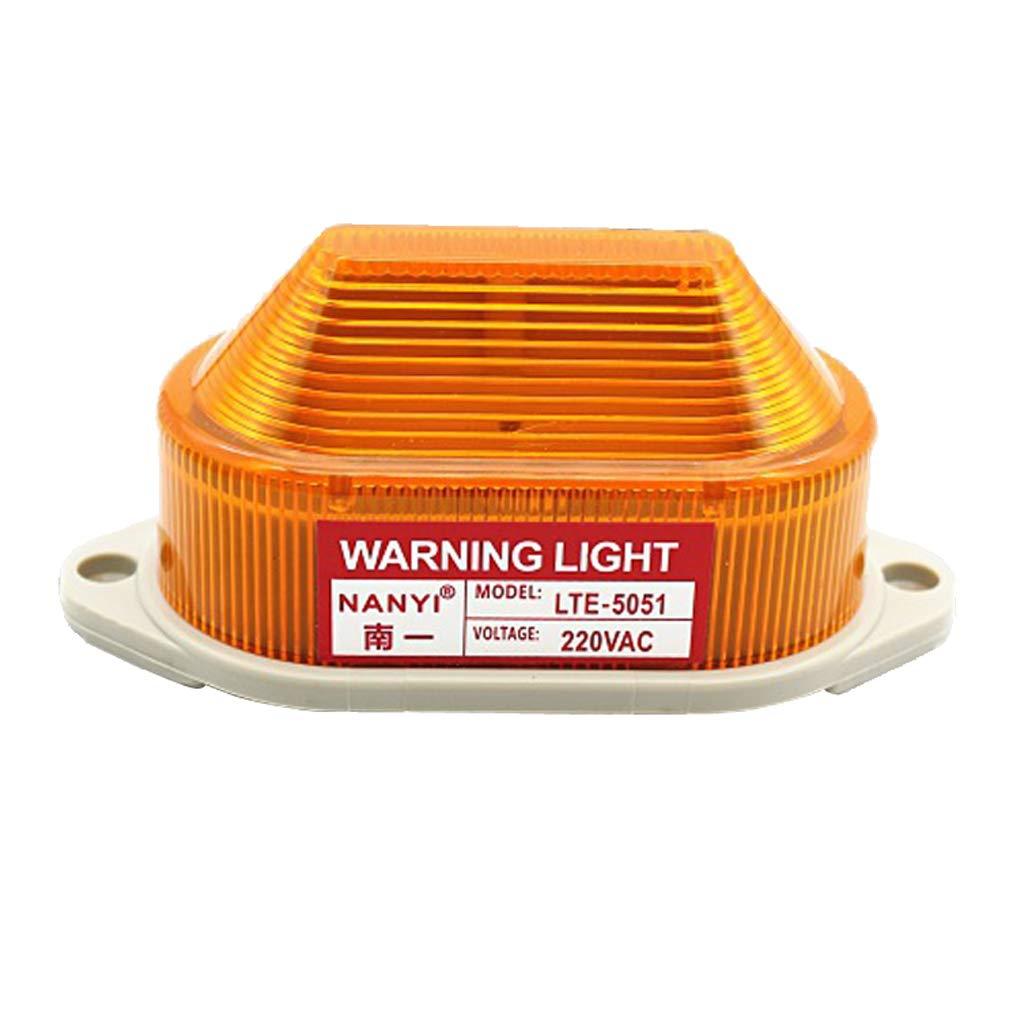B Blesiya Warnblinkleuchten Warnleuchte LED-Licht Blinklicht Rundumleuchte fü r Nebel, regnerisches Klima, Schneeig Windig AC220V