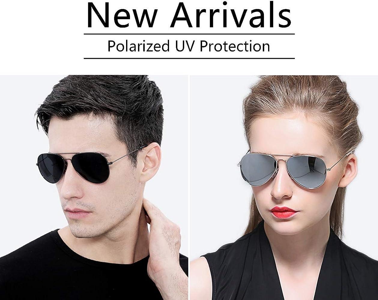 ERD Aviator Metal Gradient Fashion Sunglasses For Men Outdoor UV Protection