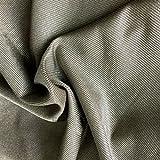 "Nano Silver Fiber Microwave RF Singal Shielding Anti Radiation Conductive Stretch Fabric 20""x59"" Safe to Body"
