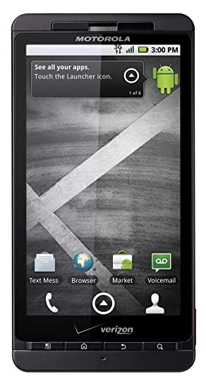 Verizon Motorola Droid X No Contract 3G Android WiFi Smartphone