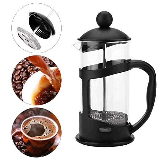 FGHSD cafetera 350600 1000ml Cafetera Filtro de presión Olla Vaso ...