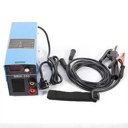 OUKANING Inverter soldadora MMA250 amperios soldadora IGBT Inverter soldador de gas de protección IGBT ARC 220