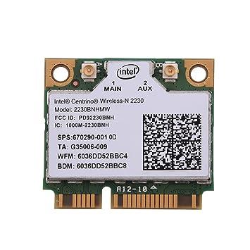 Richer-R Tarjeta PCI-E Inalámbrica de Intel N2230,2 en 1 Tarjeta ...