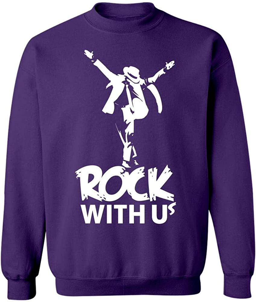 Sweatshirt Rock with Us Cool Creative Design