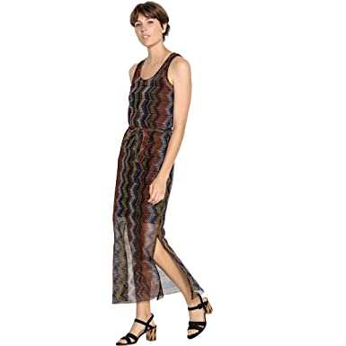 1ddf66282a La Redoute Collections Womens Straight Sleeveless Printed Maxi Dress ...
