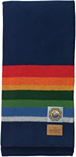 Pendleton, National Parks Blanket, Crater Lake Navy, Queen (90in x 90in)