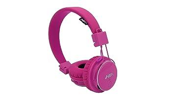 Nia martes Trader Q8 Bluetooth de diadema cerrados plegable, ajustable earmuffs- modo