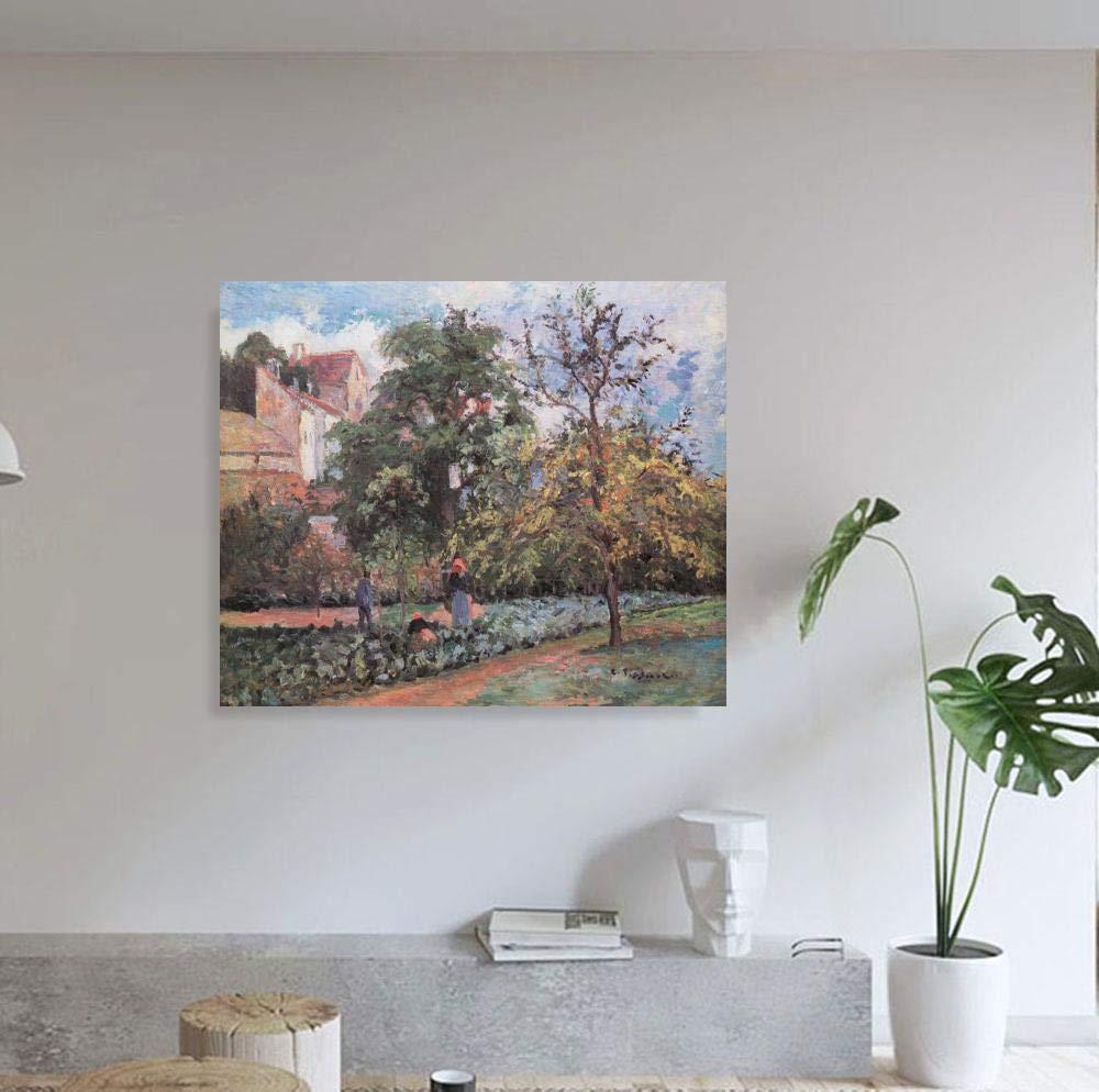 JH Lacrocon Camille Pissarro - El Huerto Maubuisson Pontoise ...