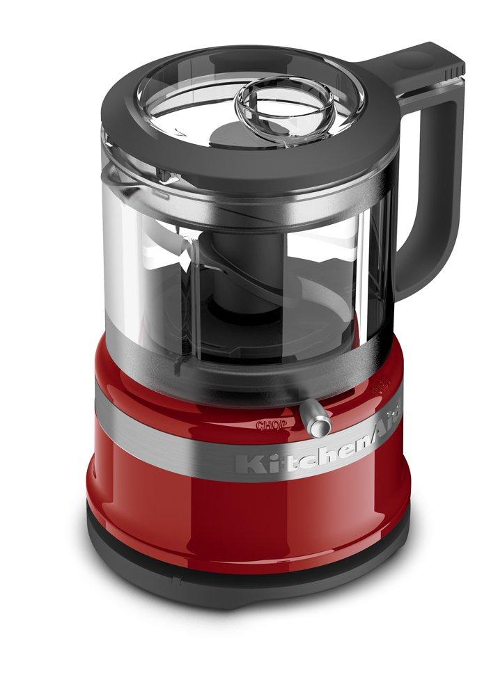 Amazon Com Kitchenaid Kfc3516er 3 5 Cup Food Chopper Empire Red