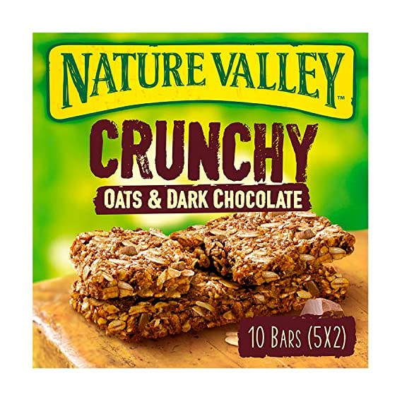 Nature Valley Crunchy Granola Bars Oats n Dark Chocolate 10 Bars Pack