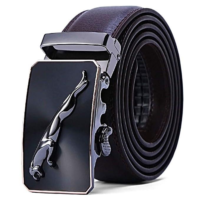 Hombre Cinturón, Cuero PU Cinturón Hombre Cinturones Piel ...