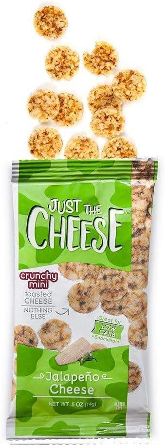 Just The Cheese Minis, queso crujiente al horno, de alta ...