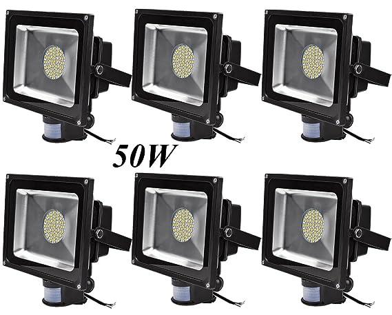 Leetop 50W 30W 10W Blanco Cálido LED Foco Proyector Luz, Foco ...