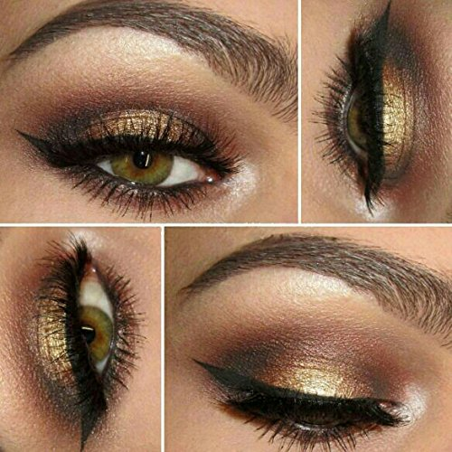 """Vegan Friendly Eyeshadow   All Natural Mineral Makeup   Cruelty Free Cosmetics   Get this Look Palette of 5 Eyeshadows """"SEDUCTION""""   Look Good, Feel Good Naturally with Addictive - Get How Style To Jenner Kylie"""