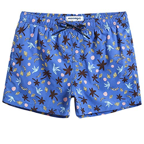 MaaMgic Mens Boys Short Swim Trunks Mens Bathing Suits Slim Fit Swim Shorts Swimsuit for Men