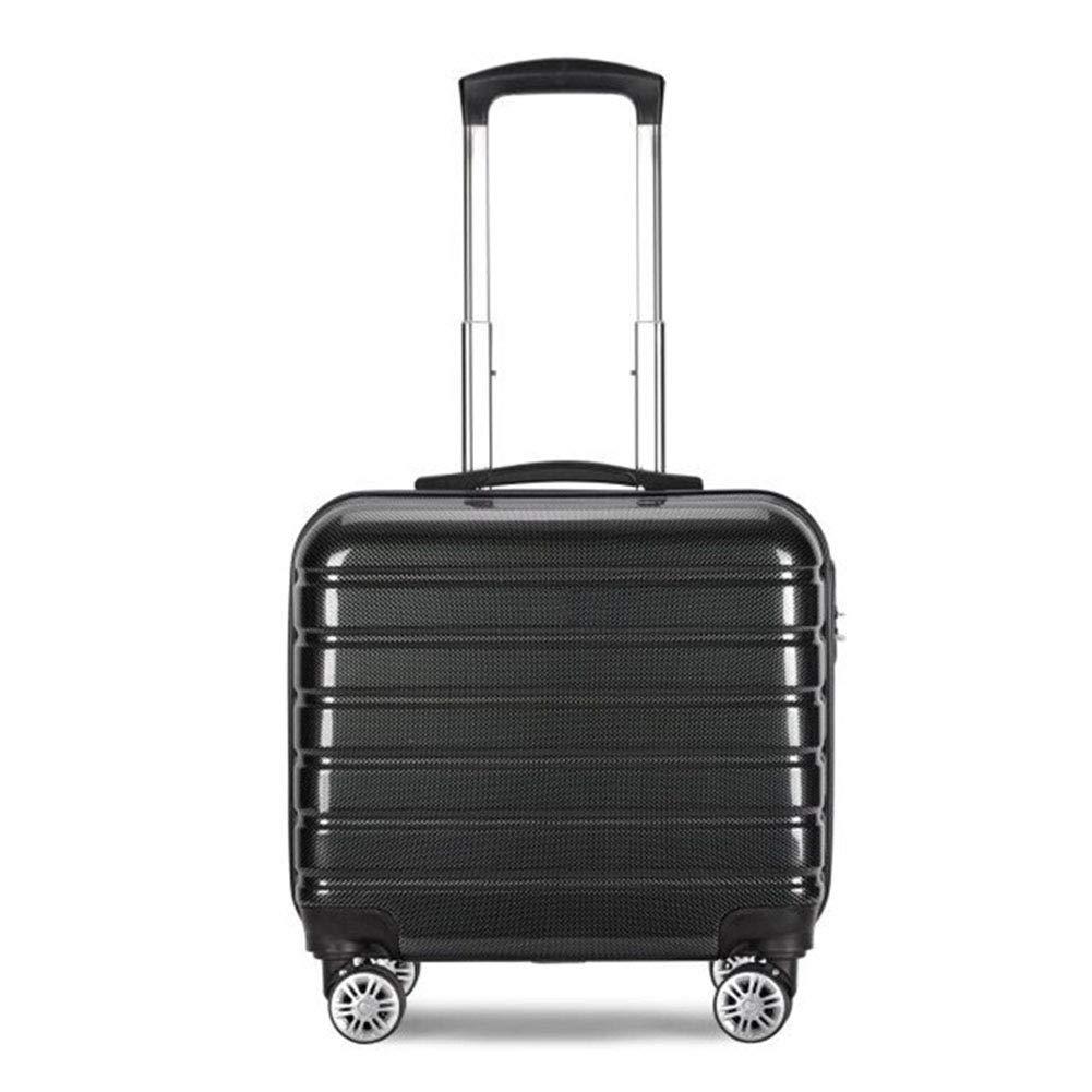 荷物を運ぶ、スピナーホイール付きABS + PCローリングトロリー、軽量ハードシェルトラベルスーツケース内蔵TSAロック、16インチ B07V2RNVGZ