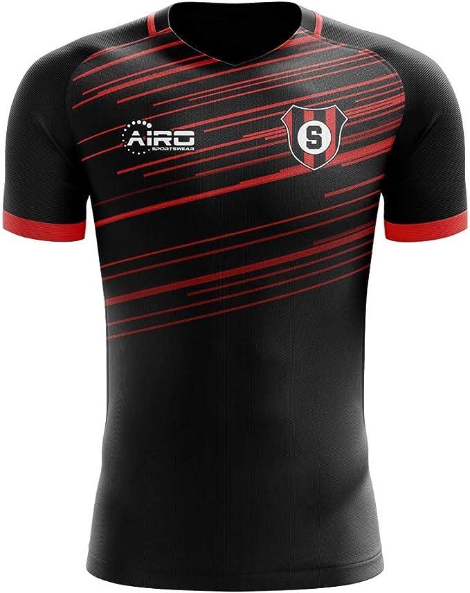 Maroon Airosportswear Hearts Established Football T-Shirt