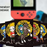 【Newest Black Version】23pcs NFC Tag Game Cards for the Legend of Zelda Breath of the Wild Switch / Wii U Cards with Card Box