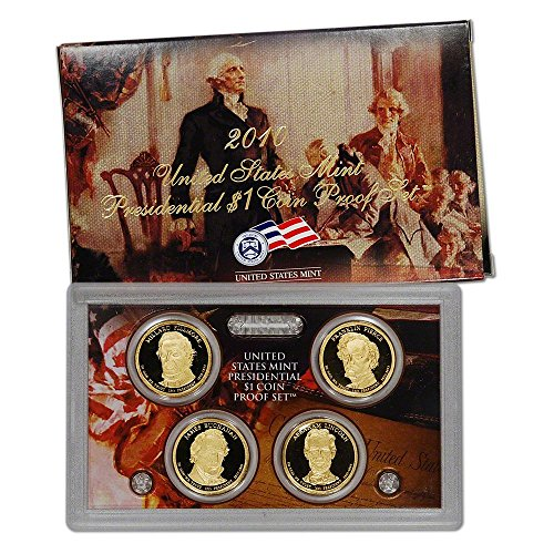 - 2010 S US Mint Presidential $1 Coin Proof Set OGP Proof