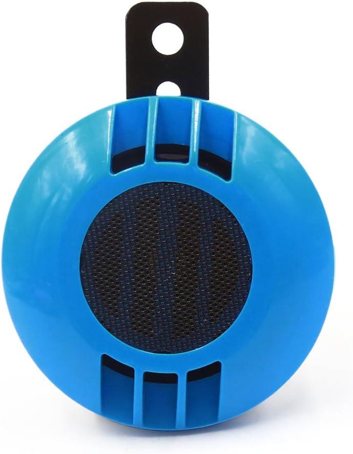 sourcingmap/® Nero 105db forte stile lumaca impermeabile aria elettrica avvisatore acustico per moto scooter