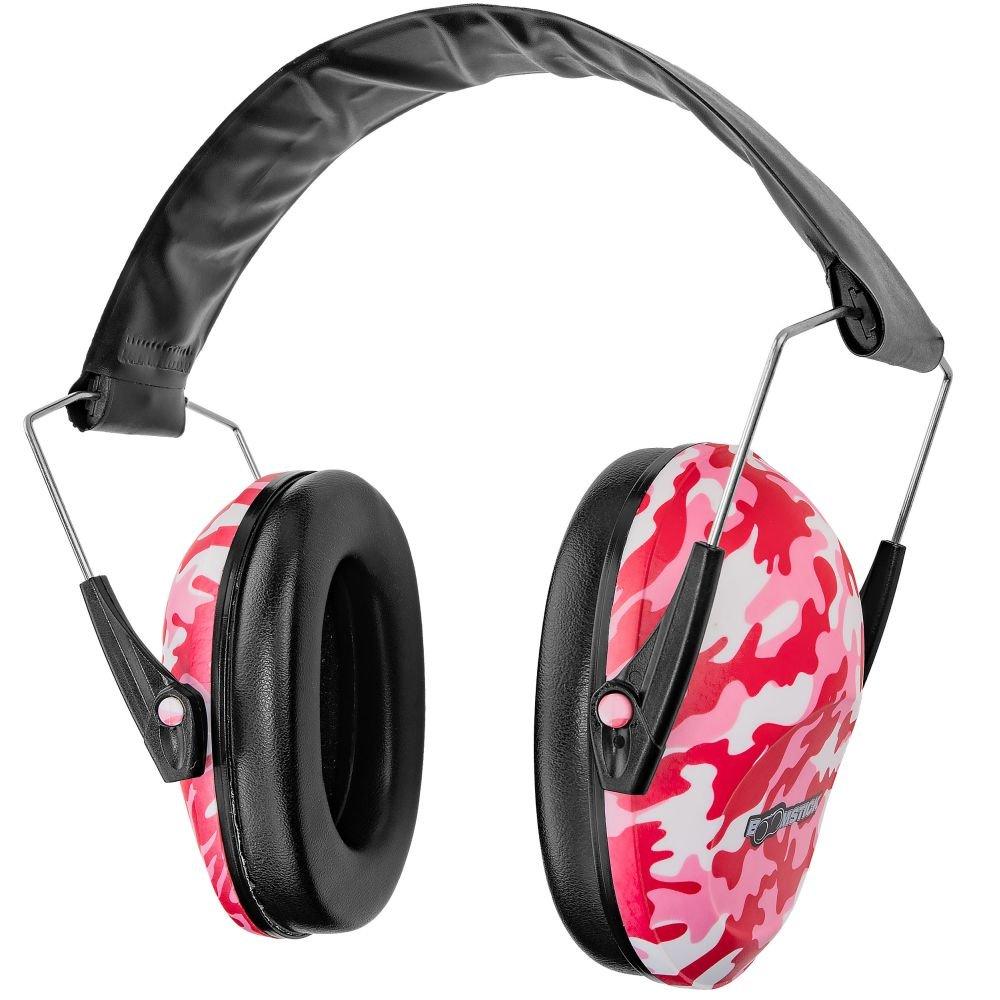 Boomstick Gun Accessories Ear Muff Hearing Protection, Black BOOM-10042