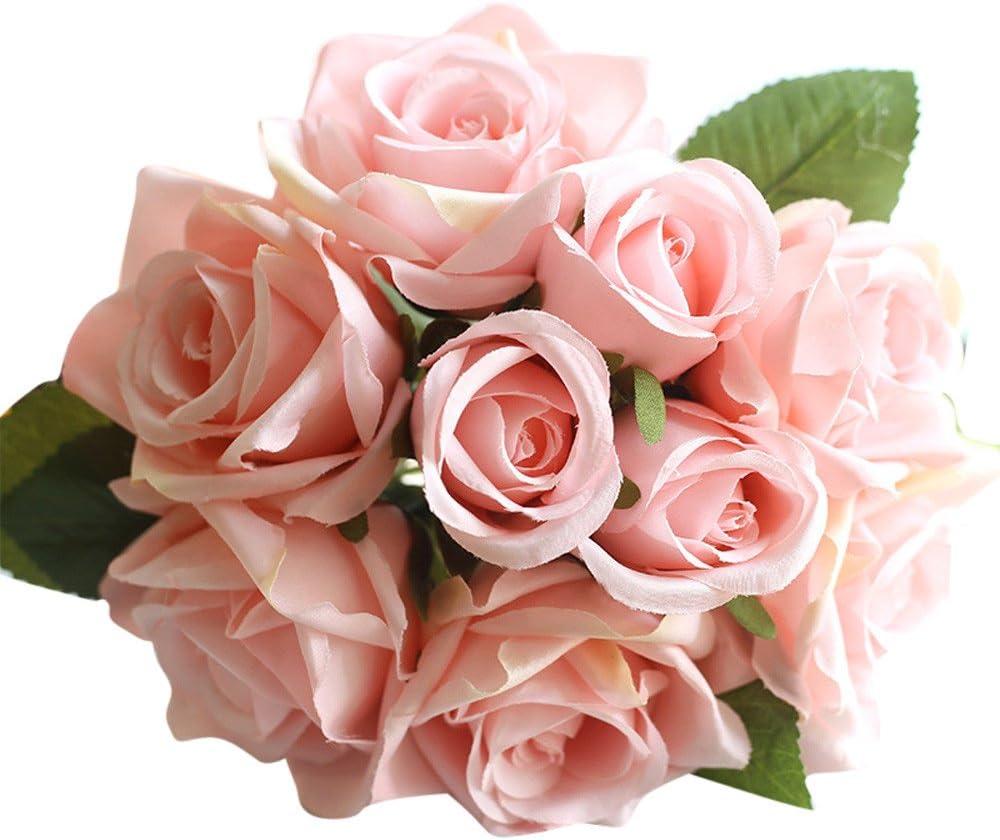 Mancooy Rose, Symbole De l'amour,1 Bouquet De 9 Têtes, Bouquet De ...