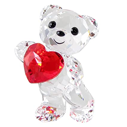 cf13581be8 Image Unavailable. Image not available for. Color: Swarovski SW5265310 Kris  Bear - A Heart for You