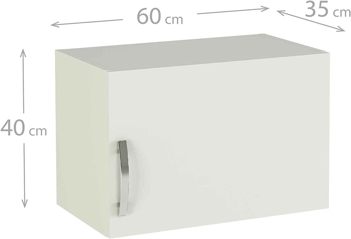 MEKA-BLOCK K-1406-BCO - Módulo Alto de Cocina altillo en una ...