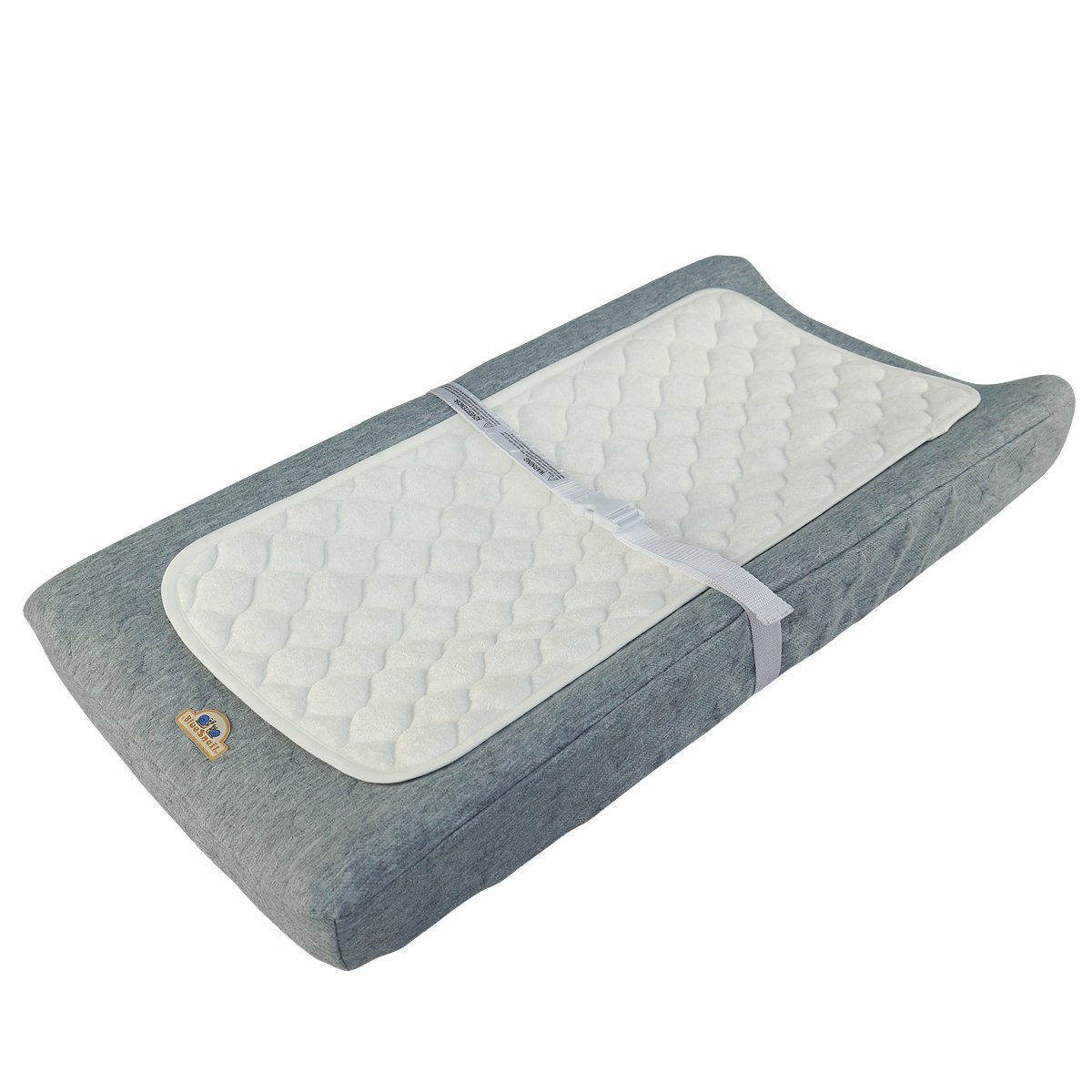 Bamboo Quilted Waterproof Changing Pad