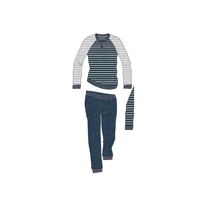 2f5d5f16e54950 Navigare Pigiama Uomo S/46-M/48-L/50-XL/52-XXL/54 Micro Cotone Punto Milano  696: Amazon.it: Abbigliamento