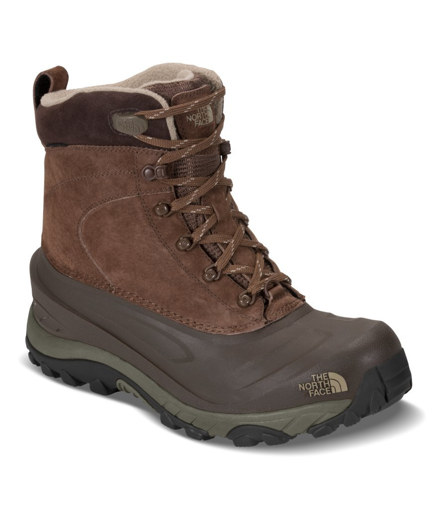 The North Face Men's Chilkat III Boot - Carafe Brown & Bracken Brown - 7 (Past Season)