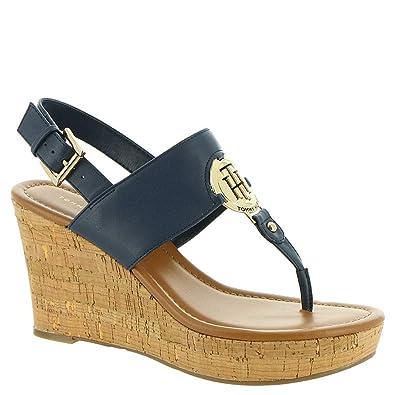 98bdf156c0 Amazon.com | Tommy Hilfiger Manne Women's Sandal | Platforms & Wedges