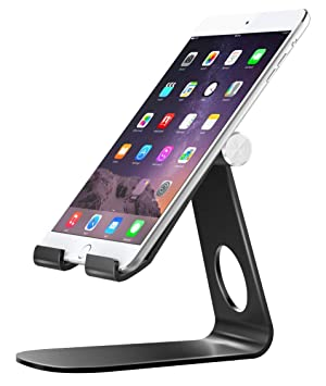 da7c54a12ea2 MoKo Support Universel en Aluminium pour Tablette Portable, Rotatif à 210  Degré, Compatible