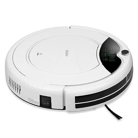 Haier T320 Aspiradora robot Smart Auto Vacuum microfibra de limpieza de polvo limpiador suelos Robot especialmente
