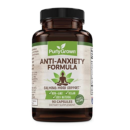 Anxiety herbal supplement