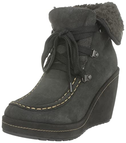 314dbb7f02b Rocket Dog Women s Bonfire Suede Shadow Grey Ankle Boots 7 UK ...