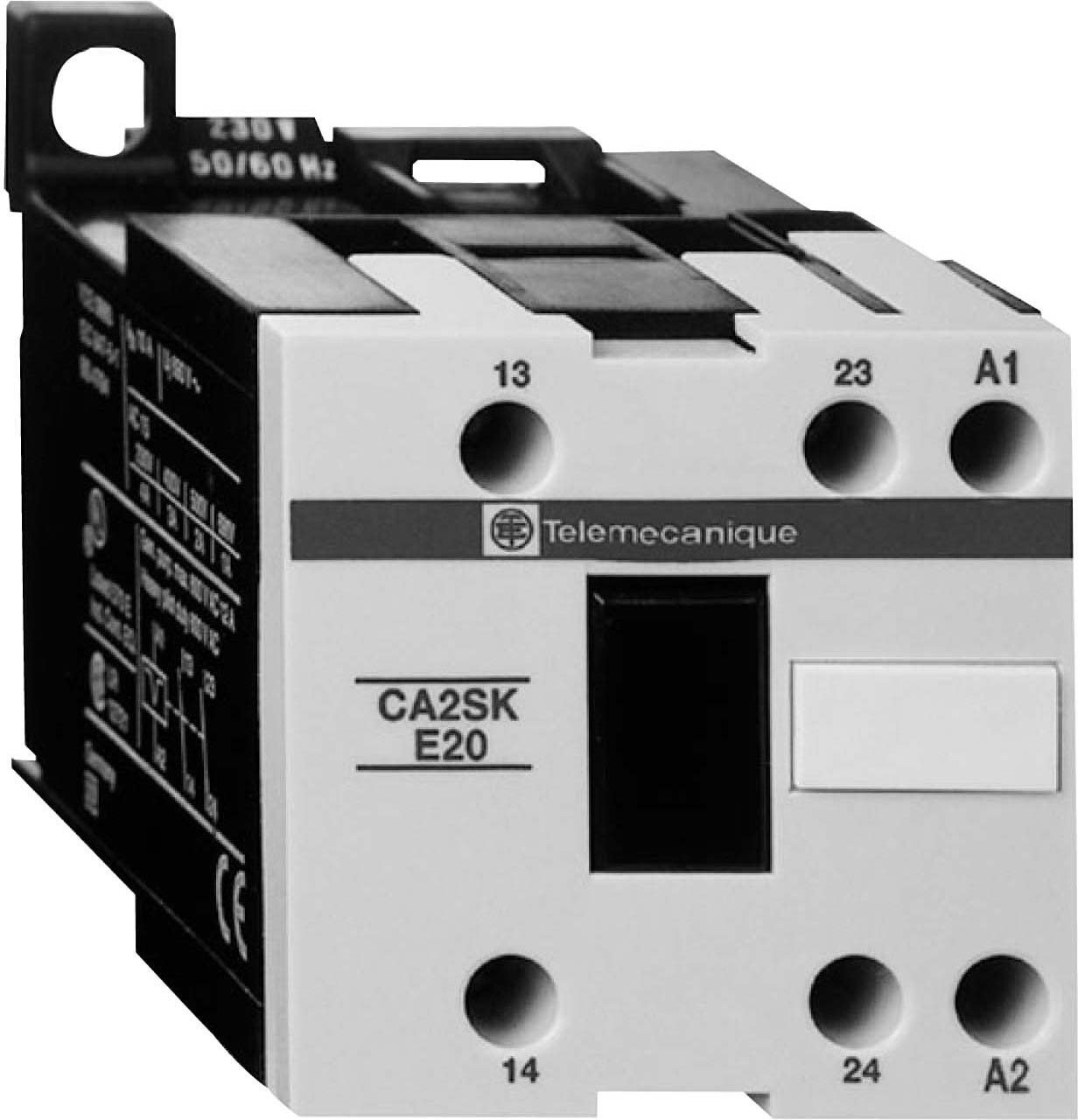Midwest Control CA2SKE20-T7 Schneider Electric Alternating Relay, 408V - 480V Operating Range, 14 Degree F - 122 Degree F Temperature Range