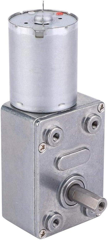 Motor, Motor de engranajes Motor de gusano de velocidad CC tipo micro de 6 V, para la industria(30RPM)