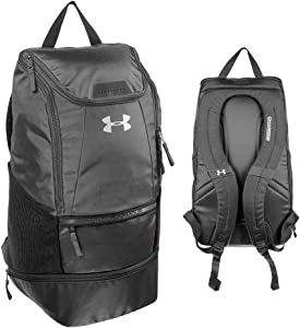 Under Armour Soccer Backpack, BLACK, Large