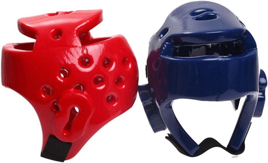 UPANTECH Adultes Enfants Casque de Protection Gear Training Casque de Boxe Kick Boxing Protection S//M//L//XL Red