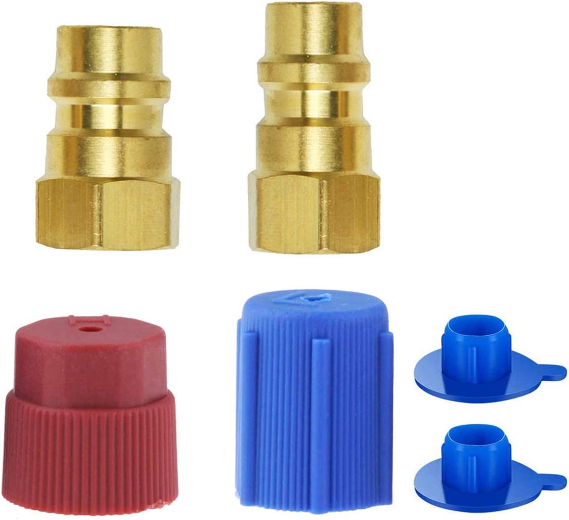 wadoy R12 to R134a Conversion Kit R12 to R134a Adapter R12 to R134a Retrofit Kit